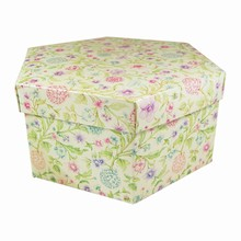 Midnight Garden Hexagonal Box