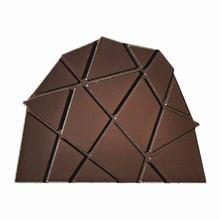 F1503 Moule décor polygonal latéral de bûche