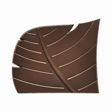 F1504 Lateral Leaf Decor for Yule Molds