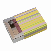 e1rayésS-10 Glossy Stripes Sleevebox for 1 Chocolate