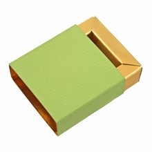 E10737g-10 Sleevebox Chartreuse for 1 chocolate
