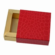 E19192g-10 sleevebox for 1 chocolate in Grenadine