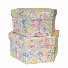 1 Spring Hexagonal Box