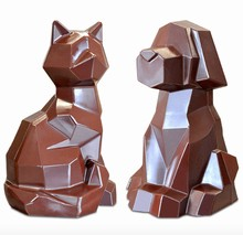DRCP027 Chien & Chat Origami PVC Mold
