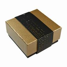 Embossed Gold Rigid Box