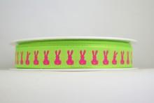 RP628 Neon Pink Bunny Ribbon