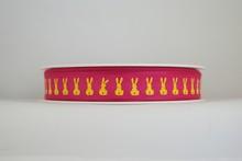 RP629 Neon Yellow Bunnies Ribbon