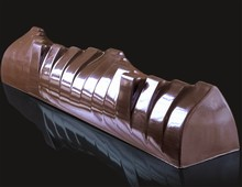 BUB40-2 Wavey Yule Log Mold