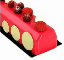 BUB15 Yule Log Beleved Edges Cake Mold