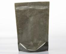 Zip bag charcoal grey