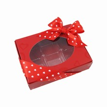 ccv301 1/4lb Metallic LOVE folding box