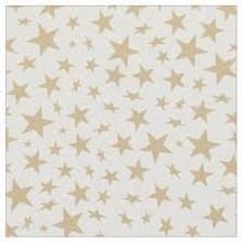 Sachet cone étoiles or