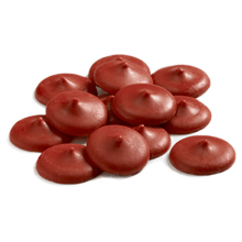 Pastilles de confiserie rouge