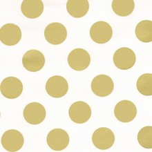 gdcone Large gold dots cone bag