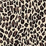 Leopard print flat bag