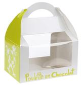 bp127 Poulette en chocolat 175mm