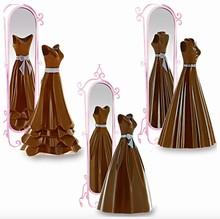 DRCP033 Moule Chocolat Robes Evasées Modèles