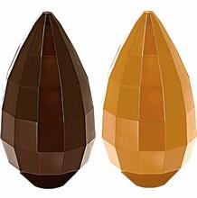 DRC2557 Moule Oeuf Chocolat à Facettes