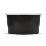 Ice cream container black no 1