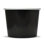 Contenant noir creme glacée no 2