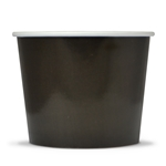 Black container for ice cream no 3