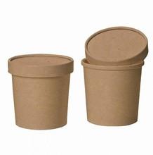 Ice cream container kraft no 3