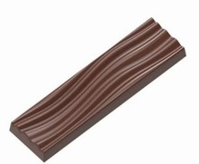 IT224 Rippled Sea bar Chocolate Mold