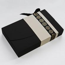 ANTB315 Boîte écrin noire et crème 15ct