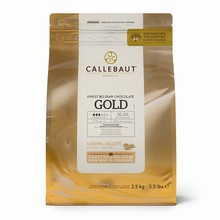 GOLD Callets caramel de Callebaut 500g
