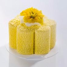 LCV004 Spray velours alimentaire jaune pastel
