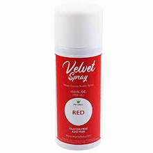 LCV008 Spray velours alimentaire rouge