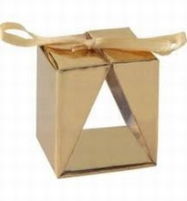4091g One truffle window gold box