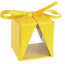 4091y One truffle box yellow window