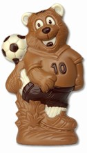 HB8003PC Bear with Soccer Ball