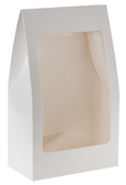 4973w White standing pouch