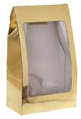 4973g Metallic gold standing pouch