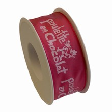 rp32 Ruban Poulette rose 40mm