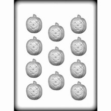 8h3001 Hard candy mold pumpkin