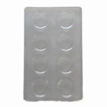 cav08-250 Round cavity trays 1/2lb rect
