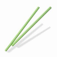 p8lg Green paper sticks