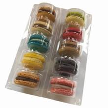mac10 pvc tray for 10 macarons