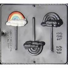 cml204 Rainbow lollipop mold