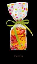 98302 multi color pearls bag