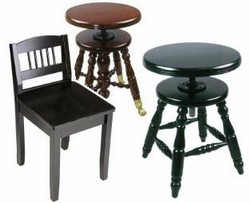 Piano Stools and Piano Chairs
