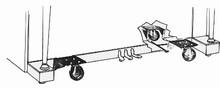 Twin Heavy Duty Upright Piano Dollies