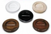 Medium Wood Caster Cups for Grand Pianos: Set of 3