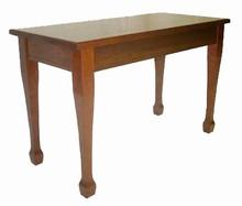 GRK Wood Top: Classic Piano Bench w/ Spade Leg