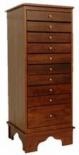 Sheet Music Storage Cabinet by Schaff - Solid Black Cherry Wood
