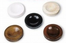 Small Wood Caster Cups for Upright or Grand Pianos: Sets of 3 or 4