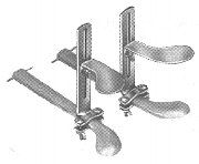 Piano Pedal Extenders: 1 pair